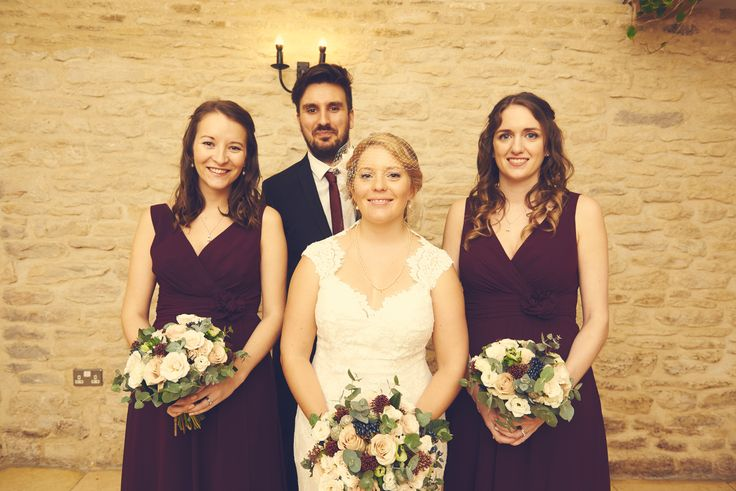 amazing photos compliments Dan Fisher Photography - such a great photographer, loved sharing our day with him #danfisherphotography #gloucestershire #kingscotebarn #winterwedding #bridalparty #manofhonour #bridesman #bridesmaids