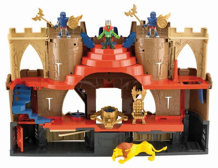 LOWEST EVER PRICE DROP Imaginext Castle Lions Den SAVE 50% NOW £24.99