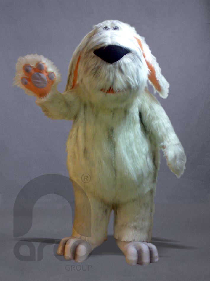Botargas de Animales de Granja. Perro Lanudo ¡Conoce más modelos de botargas de animales de granja aquí!: http://www.grupoarco.com.mx/venta-de-botargas/botargas-de-animales-en-mexico/