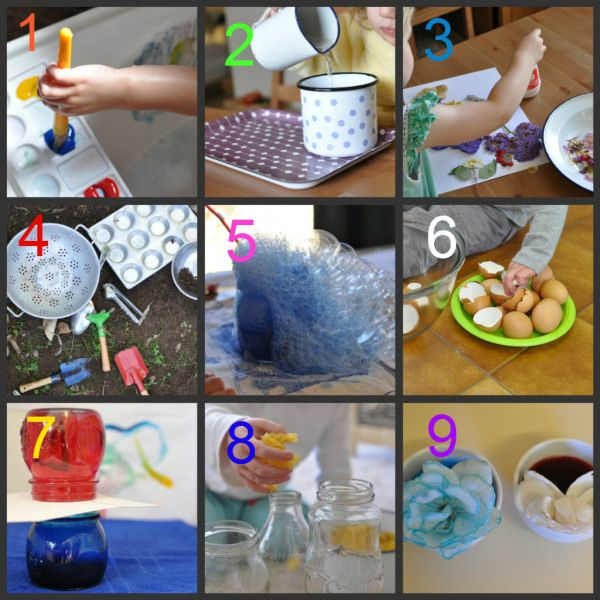 9 fun and educational preschool/toddler activities to do at home TODAY
