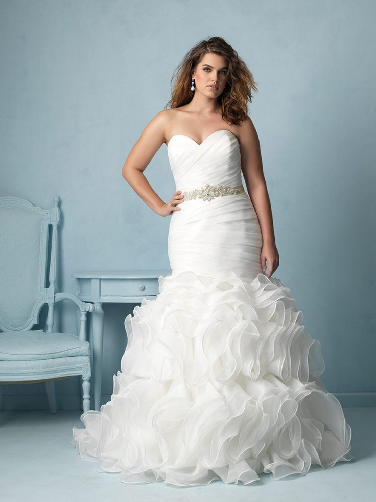 Allure Plus Size Wedding Dresses 2016 - http://misskansasus.com/allure-plus-size-wedding-dresses-2016/