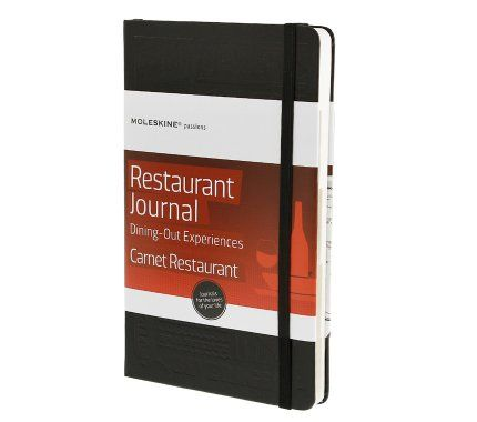 Moleskine ® - Restaurant Journal - Dining-Out Experiences