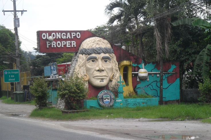 Olongapo City welcome sign.