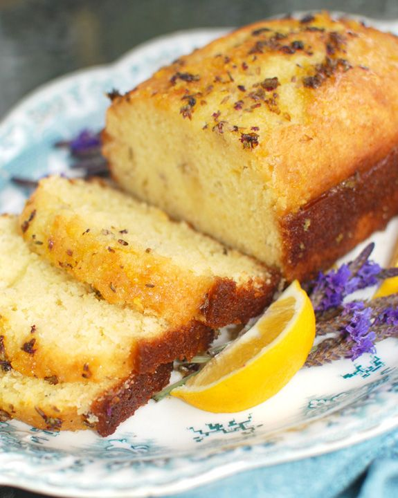 Meyer Lemon Lavender Cake