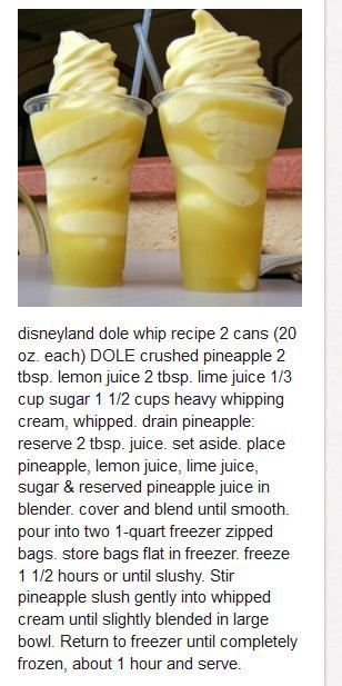 Almost my favorite part of Disneyland!!! Hope it tastes close!