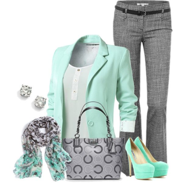 "Work wear... ""Untitled #385"" by sweetlikecandycane on Polyvore:"