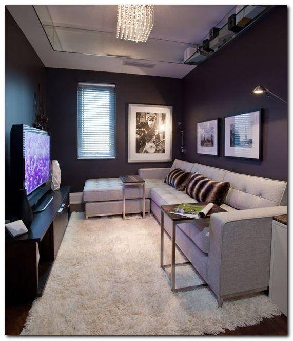 50 Cozy Tv Room Setup Inspirations Narrow Living Room Small Living Room Layout Small Room Design