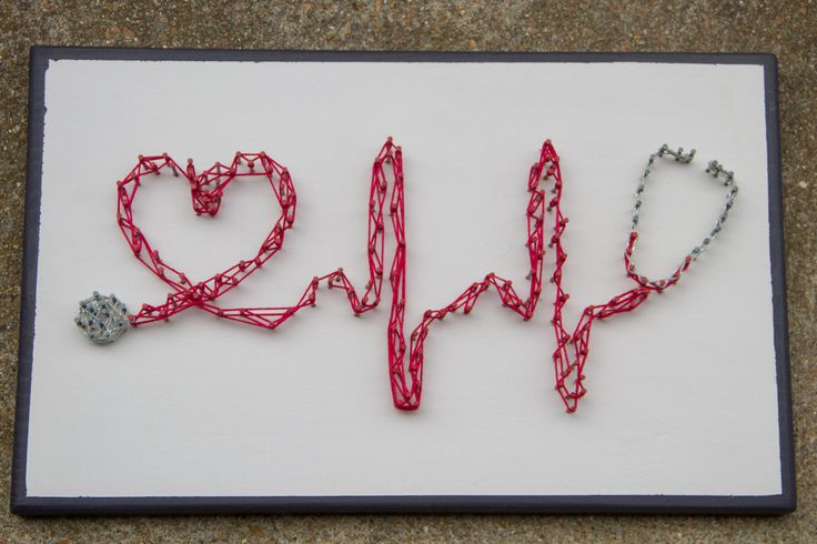 Stethoscope, Heart, String Art, Medical, Healthcare Decor by TeethLife on Etsy