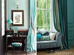 Картинки по запросу бирюзовые шторы фото
