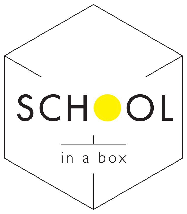 School in a box Logo