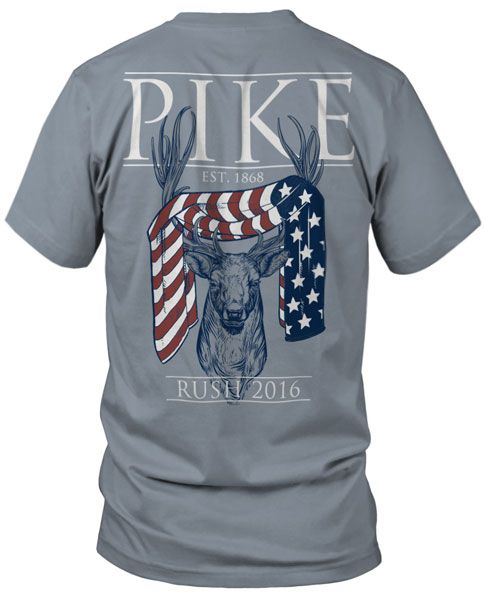 This is great. Pi Kappa Alpha Rush T-shirt.  Fraternity Rush T-shirts