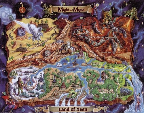 A Tribute To Classic Video Game Maps