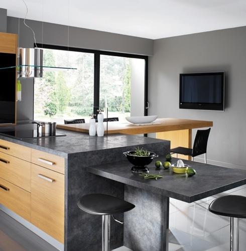 awesome cuisine luna merisier naturel mobalpa mobalpa with tabouret mobalpa. Black Bedroom Furniture Sets. Home Design Ideas
