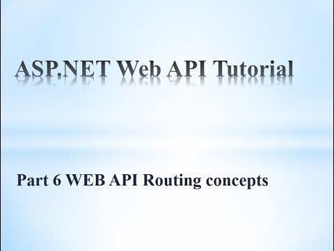 what is the use of default routing in web api This tutorial will explain about routing concepts in WEB API project. How to use attribute routing and convention routing in web api. How to use different routing tables in the same web api project. Adding different routing properties to the config obejct also explained. Programming World Programming WOrld Facebook : http://ift.tt/2r2ieb3 Twitter : https://twitter.com/schand_123 Instagram : http://ift.tt/2mxVFWV Google Plus: http://ift.tt/2r2ifM9…