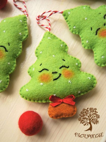 Cute Christmas tree - felt ?