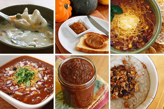 Skinny Fall recipes