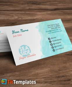 Yoga Alliance Business Cards Image Collections Card Design And