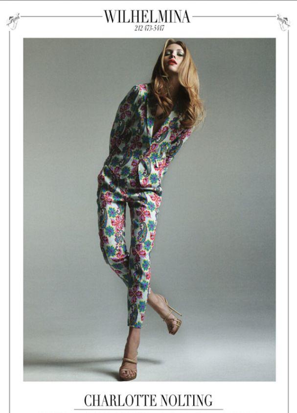 Charlotte Nolting, Wilhelmina Models