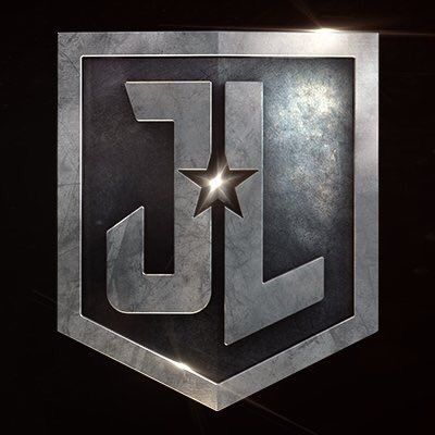 official logo for the Justice League movie