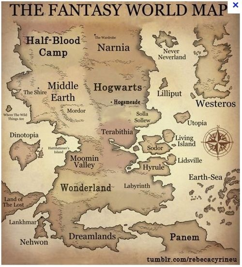 Best thing about this is they shaped middle earth properly