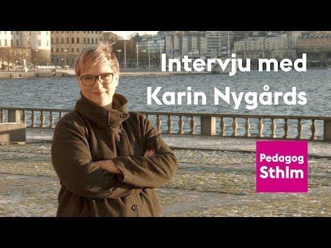 Intervju med Karin Nygårds om programmering i skolan - YouTube