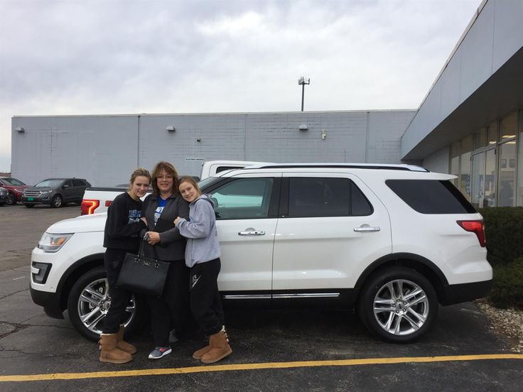 DARBY AND LINDA's new 2017 Ford Explorer! Congratulations and best wishes from Kunes Country Ford Lincoln of Sterling and Chris Lansford.