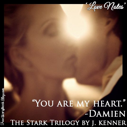 True Story Book Blog Love Notes... A love note from Damien to Nikki.