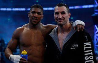 World champion Anthony Joshua advices Klitschko to retire from boxing