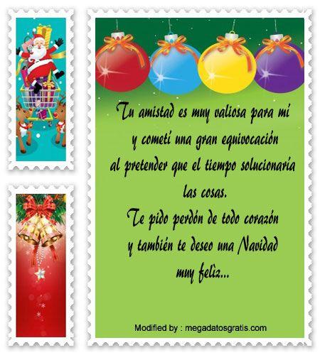 mensajes para enviar en Navidad, poemas para enviar en Navidad:  http://www.megadatosgratis.com/frases-de-disculpas-en-navidad/