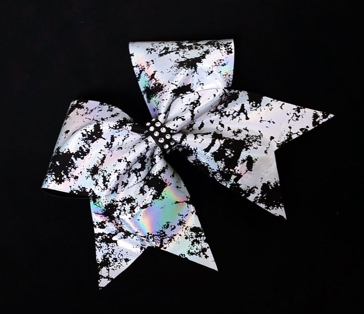 Cheer bow, Sliver cheer bow, black cheer bow,  cheerleader bow, cheerleading bow, cheerbow, softball bow, dance bow, pop warner cheer bow by MadeForMeCheerBows on Etsy https://www.etsy.com/listing/259593499/cheer-bow-sliver-cheer-bow-black-cheer