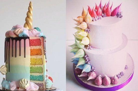 Ide Kue Pengantin Bertema Unicorn yang Menggemaskan