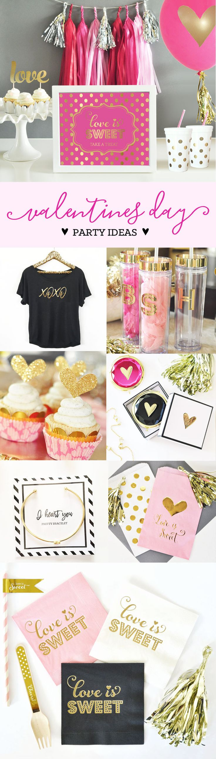 Valentines Day Party Ideas | Valentines Day Decor