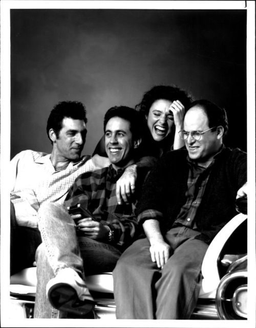 Seinfeld - This is my favorite picture of all of them together