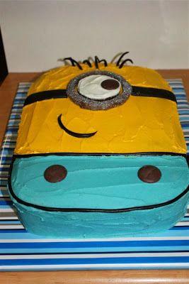 Thimbelina: Minion Cake