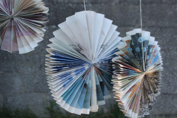 DIY Paper Fans