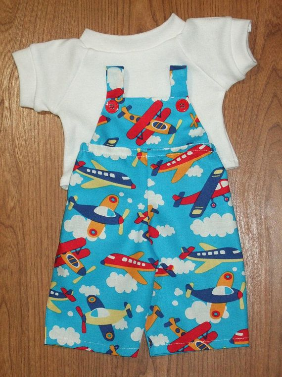 NEW For Cabbage Patch Kids Boy Doll Clothes 16 Airplane