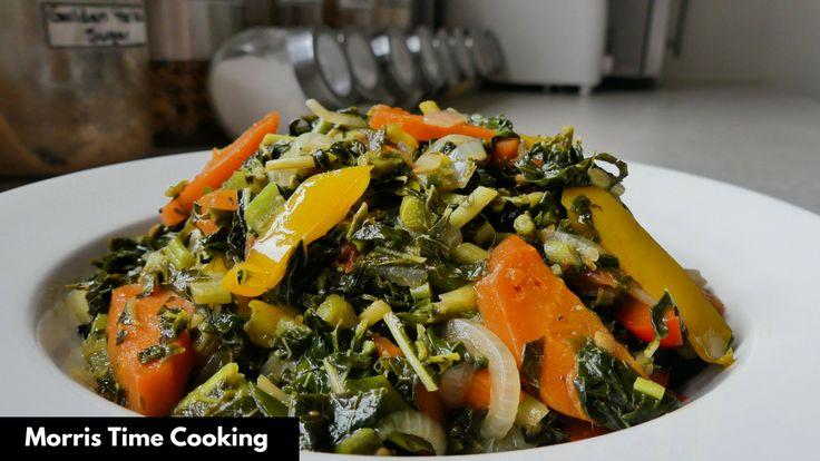 how to cook jamaican callaloo  jamaican recipes