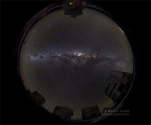 A Whole-Sky Time-Lapse of the Galactic Center #MaVi