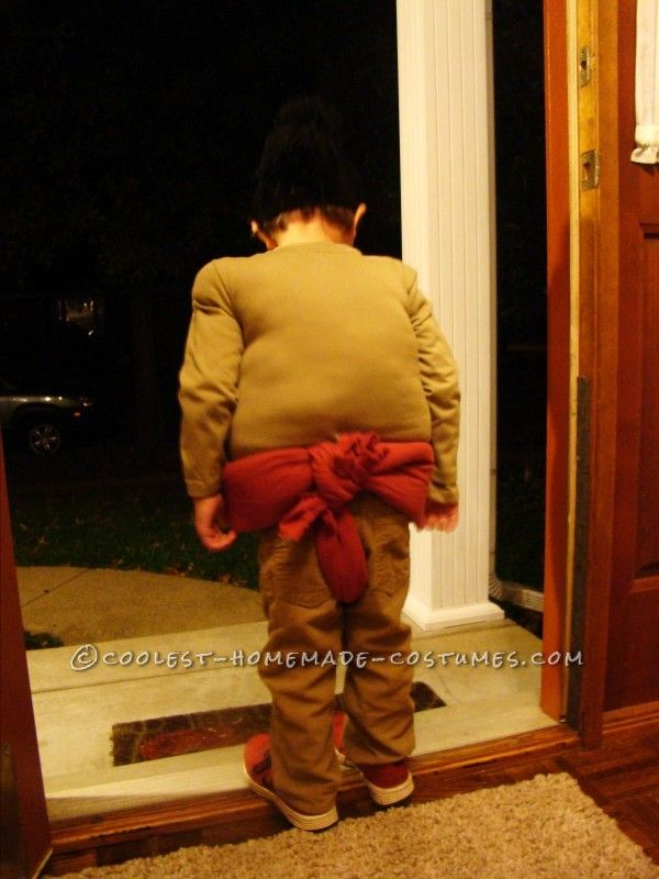 Homemade Child Sumo Wrestler Costume...