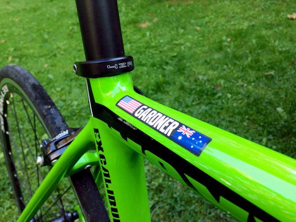 Make Your Bike Look Pro With VeloInk Custom Name & Flag Decals