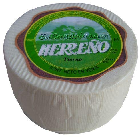 Queso Herreño Blanco Tierno 1100 g.