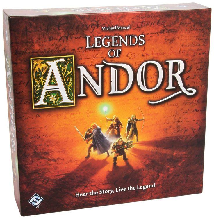 Legends of Andor (2013 Kennerspiel des Jahres Winner)