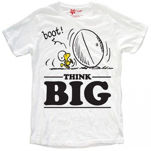 "T-SHIRT ""THINK BIG"" BIMBO"