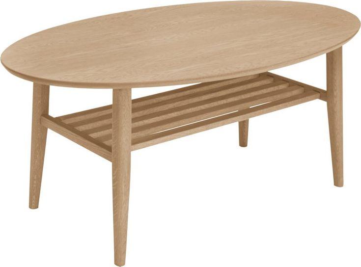 Bord - stort utvalg til din stueDerbysofabordHeltre hvitoljet eik 135x75