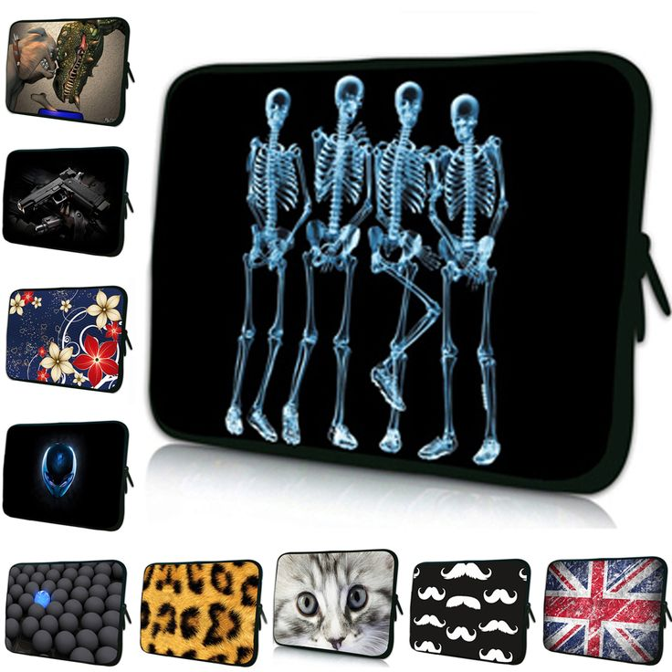 Popular Fashion Skeleton Printing Laptop Pouch 15….