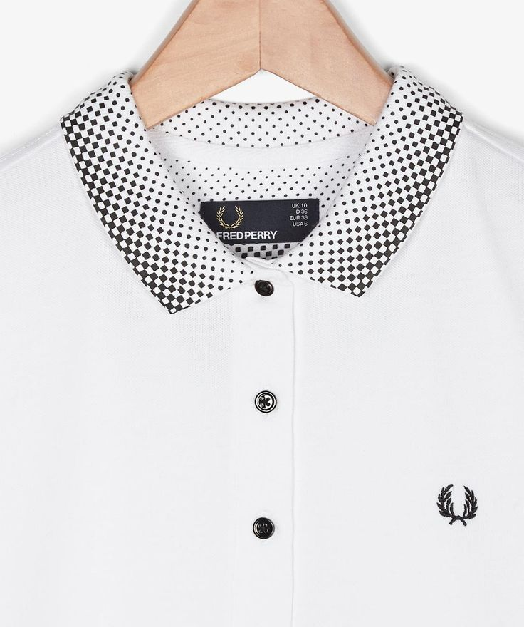 Fred Perry - ss14 - dots on collar - gradation sportive dots