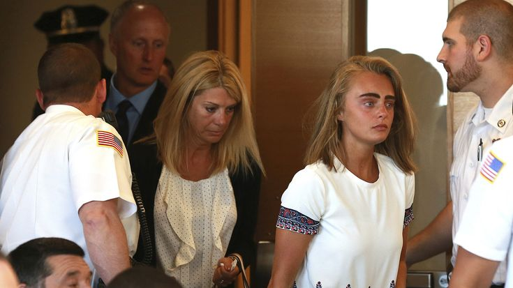 Michelle Carter had been found guilty of involuntary manslaughter for texts that encouraged her boyfriend to kill himself. She was sentenced to 2 1/2 years, with all but 15 months suspended.