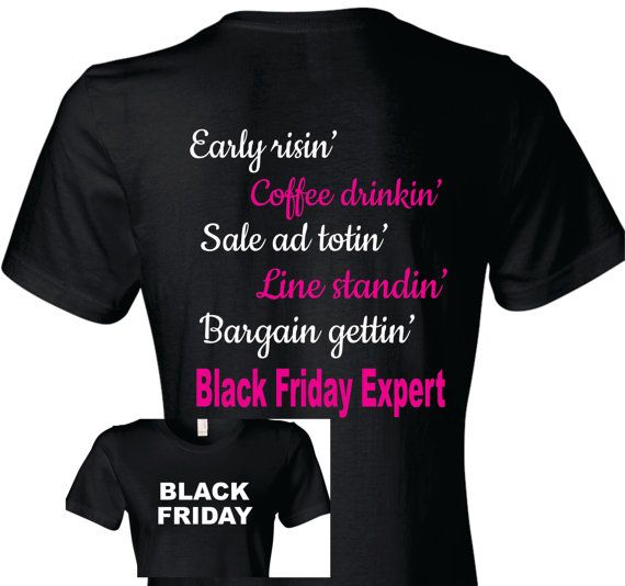 Black Friday Shirt Black Friday T-Shirt by TShirtNerds on Etsy