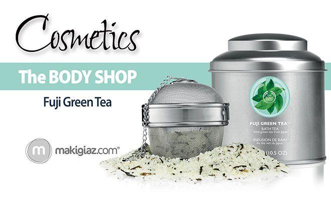The Body Shop - Fuji Green Tea  http://makigiaz.com/blog/body-shop-fuji-tea/