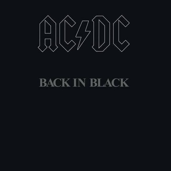 Acdc Back In Black Vinyl In 2020 Acdc Back To Black Acdc
